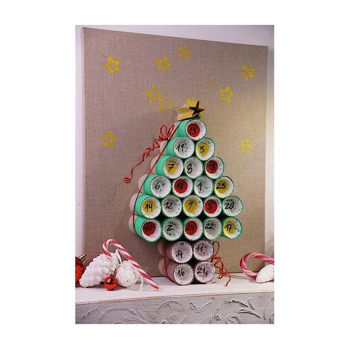 unser selbstgemachter adventskalender ideen f r weihnachten kreativ basteltipps produkte. Black Bedroom Furniture Sets. Home Design Ideas