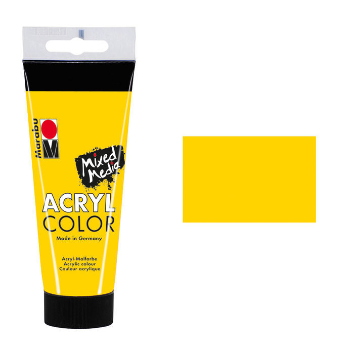 Marabu Acryl Color, 100 ml, Gelb