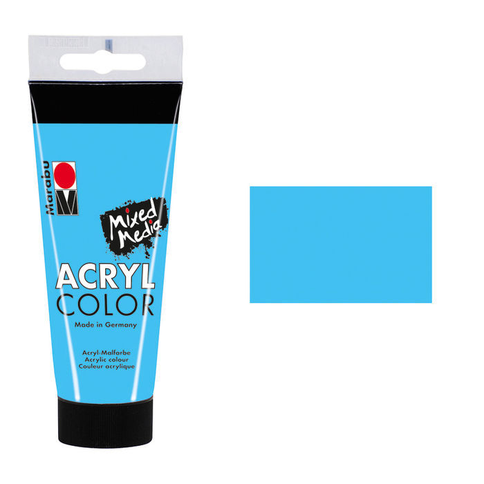 Marabu Acryl Color, 100 ml, Hellblau