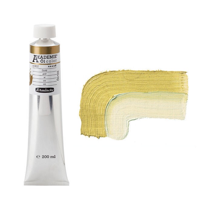 AKADEMIE  Öl color, Gold, 200 ml