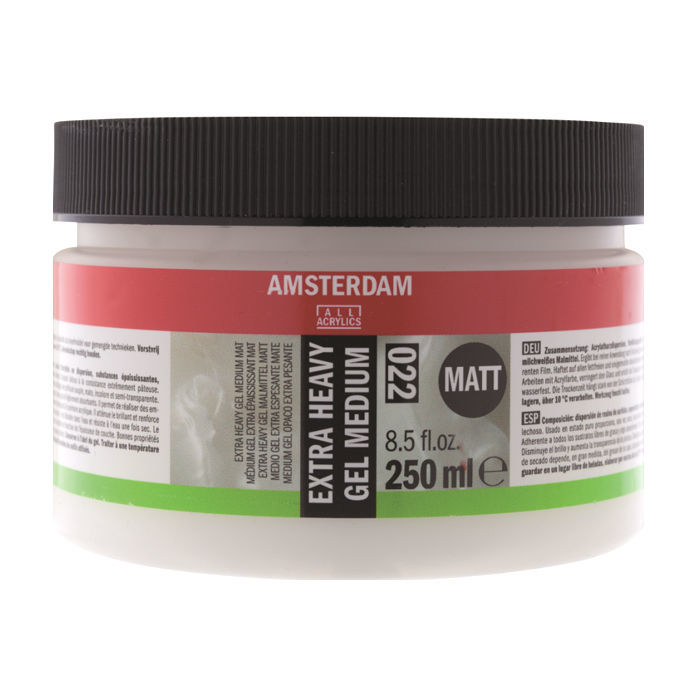 Amsterdam Extra Heavy Gel matt, 250ml