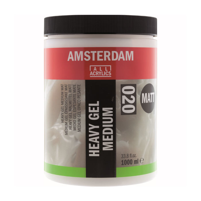 Amsterdam Heavy Gel Malmittel matt, 1000ml