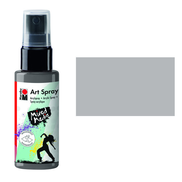 Marabu Art Spray, 50 ml, Grau