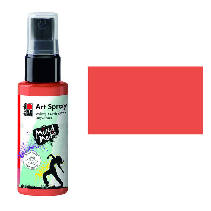 Marabu Art Spray, 50 ml, Rotorange