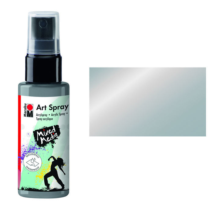 Marabu Art Spray, 50 ml, Silber