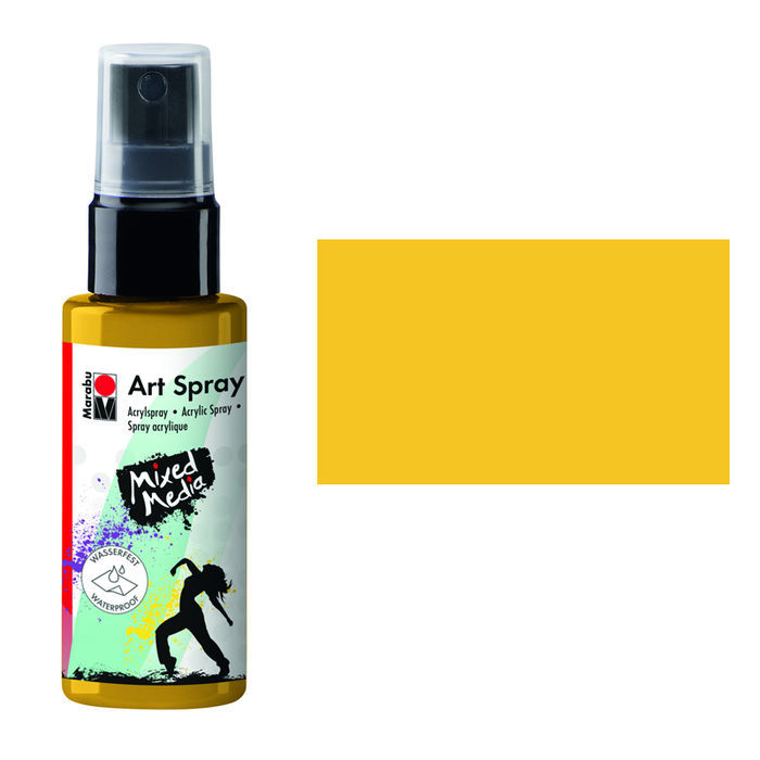 Marabu Art Spray, 50 ml, Sonnengelb