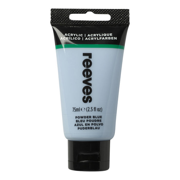 SALE Reeves Acrylfarbe 75 ml, Hellblau