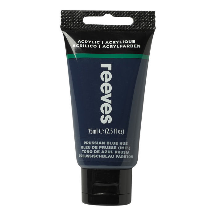 SALE Reeves Acrylfarbe 75 ml Preussischblau
