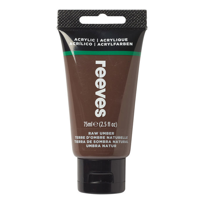 Reeves Acrylfarbe 75 ml, Umbra natur