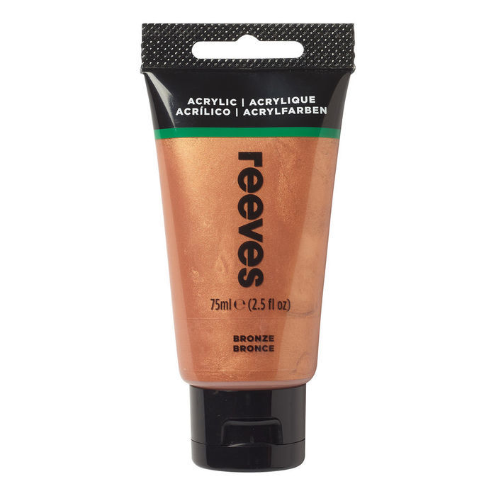 Reeves Acrylfarbe 75 ml, Bronze