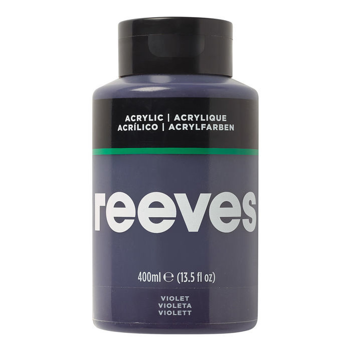 Reeves Acrylfarbe 400 ml, Violett