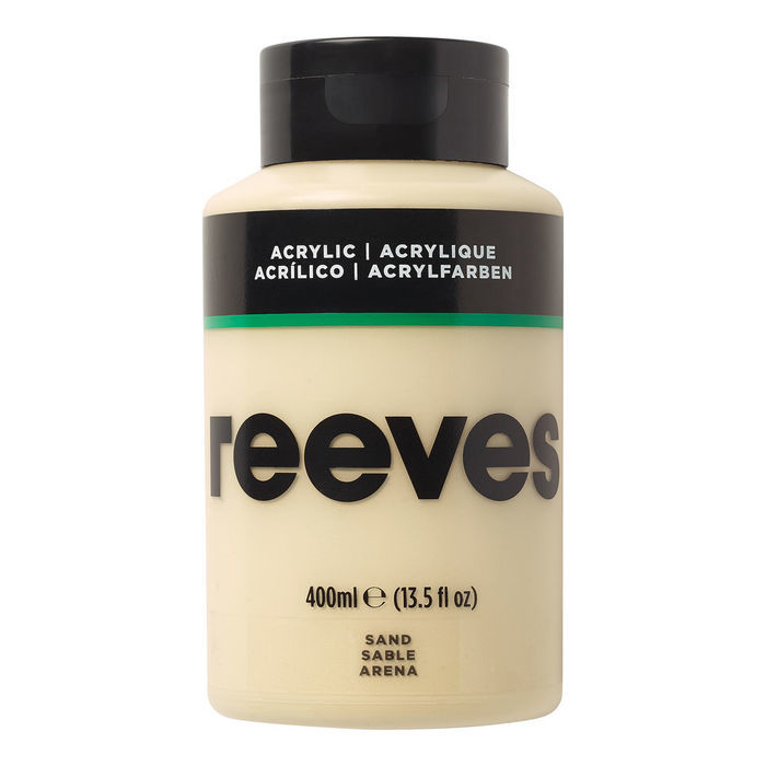 Reeves Acrylfarbe 400 ml, Sand