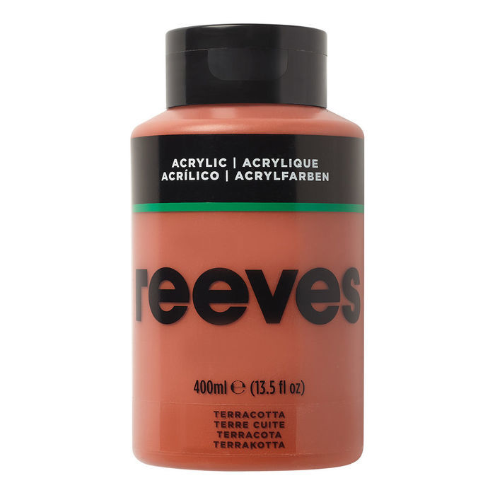SALE Reeves Acrylfarbe 400 ml, Terracotta