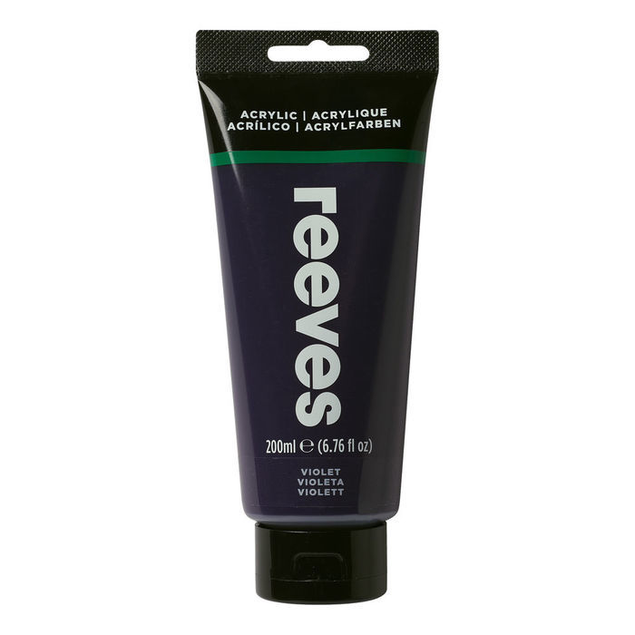 Reeves Acrylfarbe 200 ml, Violett