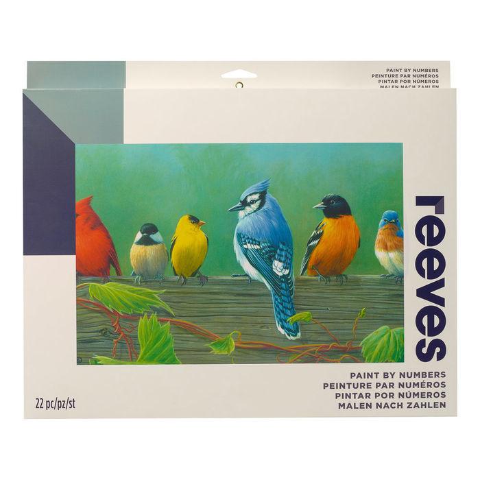 Sale Malen Nach Zahlen Artist Vögel 30x40cm Malen Nach Zahlen