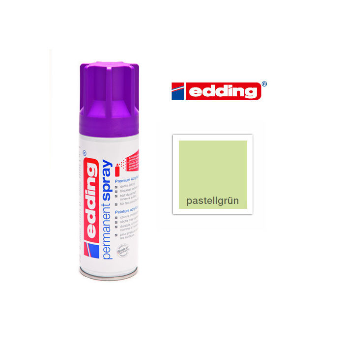 Edding Permanent Spray, 200ml, Pastellgrün