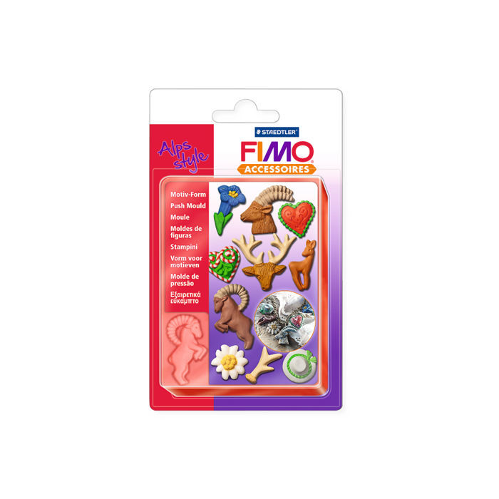 SALE FIMO Motiv-Form Alpenstyle