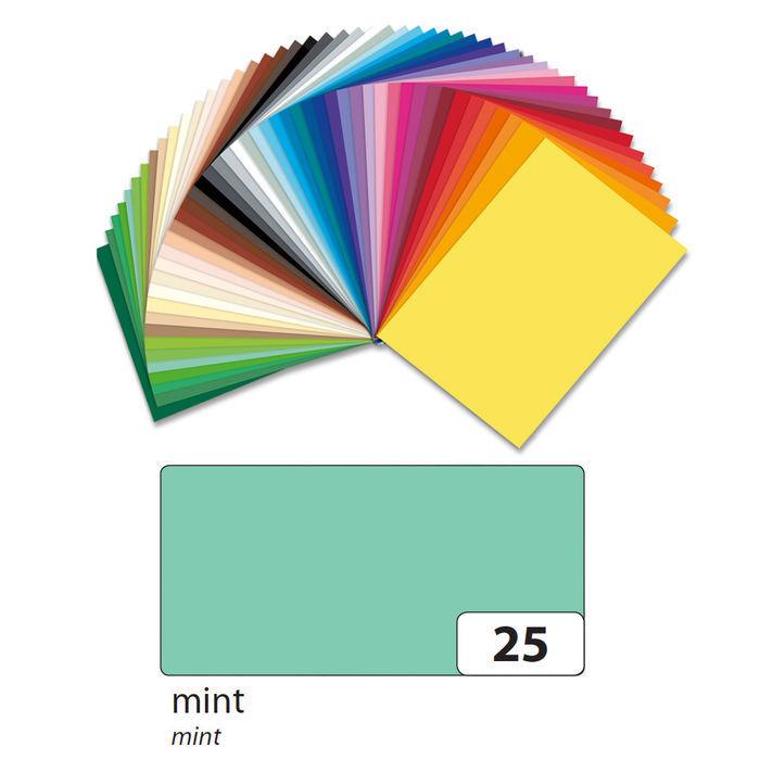 folia 6351 Tonpapier 130g//m² DIN A3 hellgrün 50 Bogen