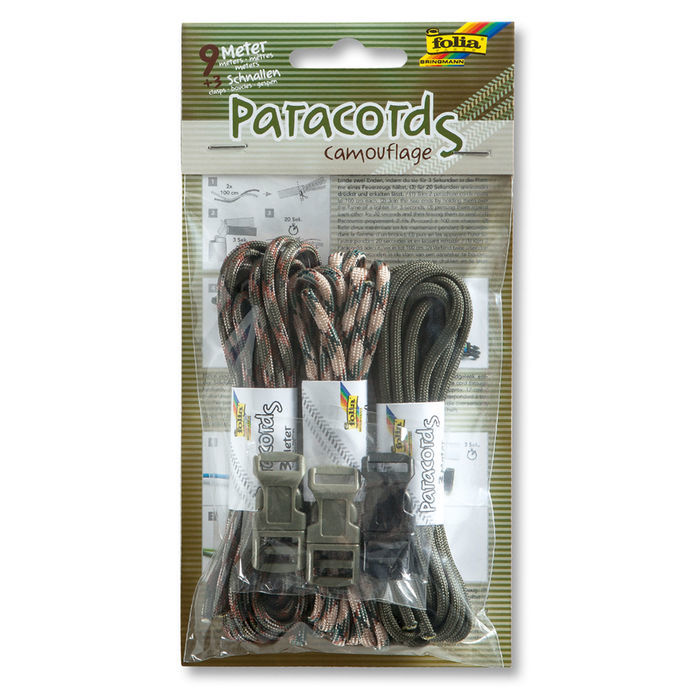 SALE Paracords Camouflage Set