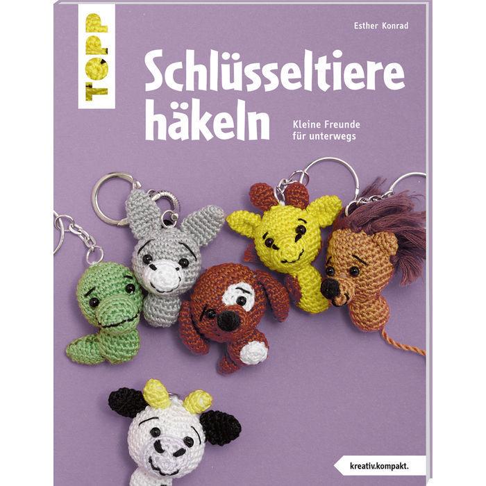 Buch Schlüsselanhänger Häkeln Bücher Handarbeit Bären Bücher