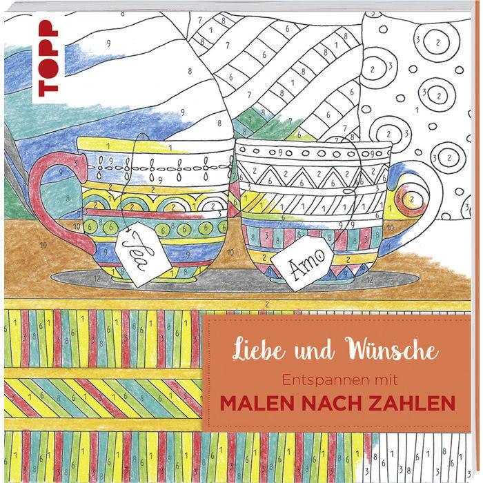 Sale Buch Malen Nach Zahlen Liebe Bücher Creatives Gestalten