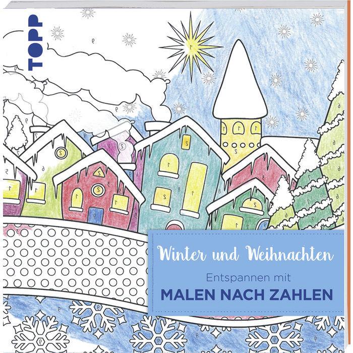Sale Buch Malen Nach Zahlen Weihnachten Bücher Creatives