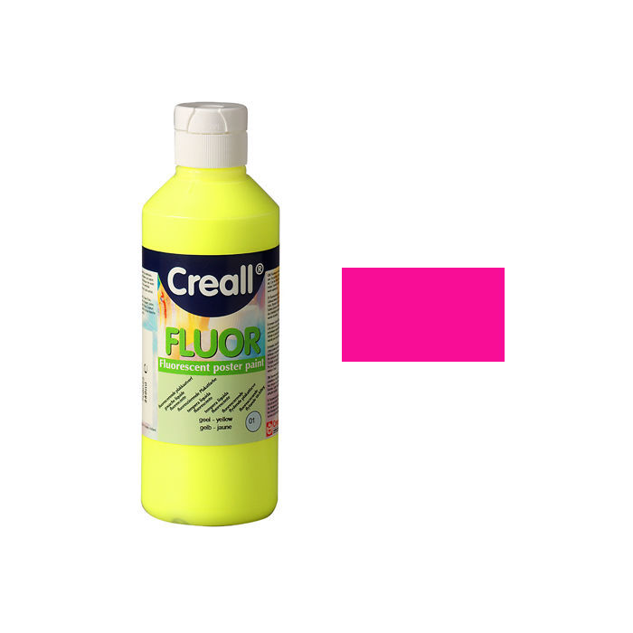 Creall Fluor-Farbe, 250ml, Pink