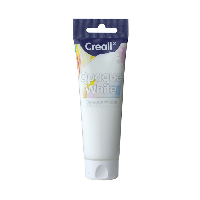 ´Creall´ Opaque White, 120ml, Deckweiß