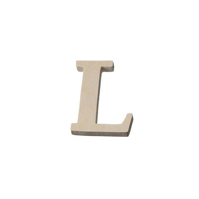 1,59€//1Stk 3D Holzbuchstabe 8 cm natur