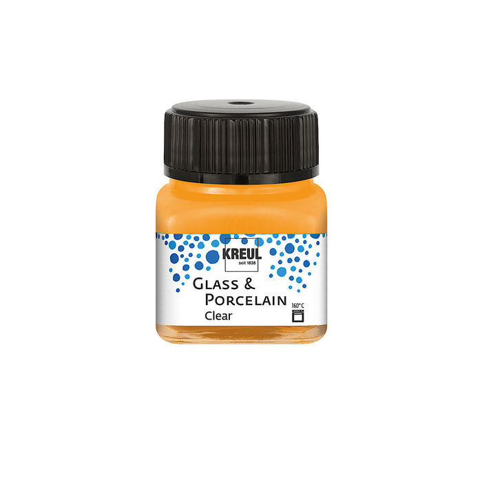 NEU Glass & Porcelain Clear, 20ml Orange