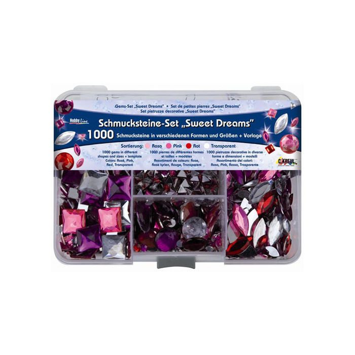 Hobby Line Schmuckstein-Set 'Sweet Dreams'