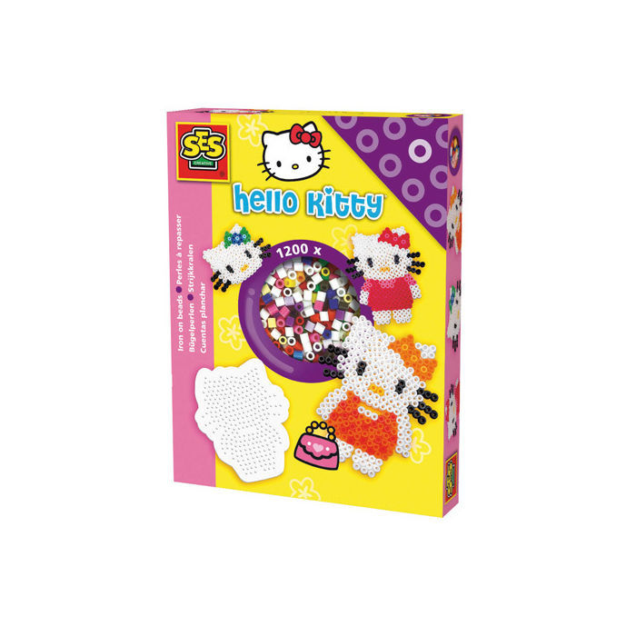 SALE Bügelperlen Set, Hello Kitty, 1200 Stk.