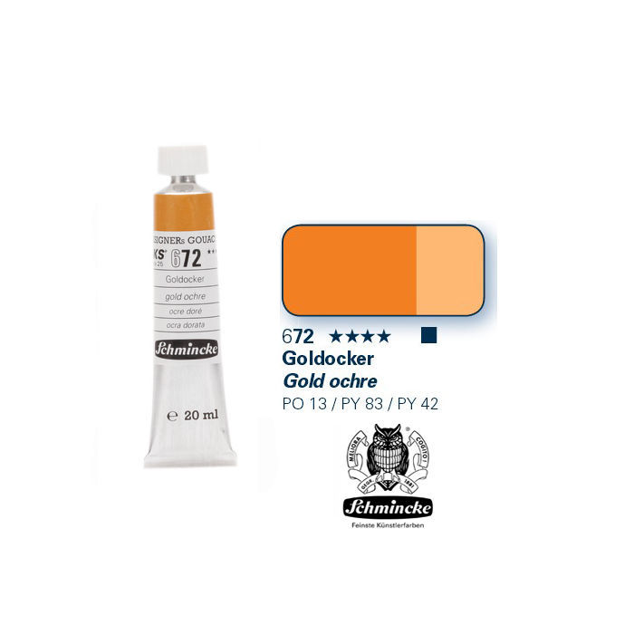 HKS Designers  Gouache, Goldocker, 20 ml