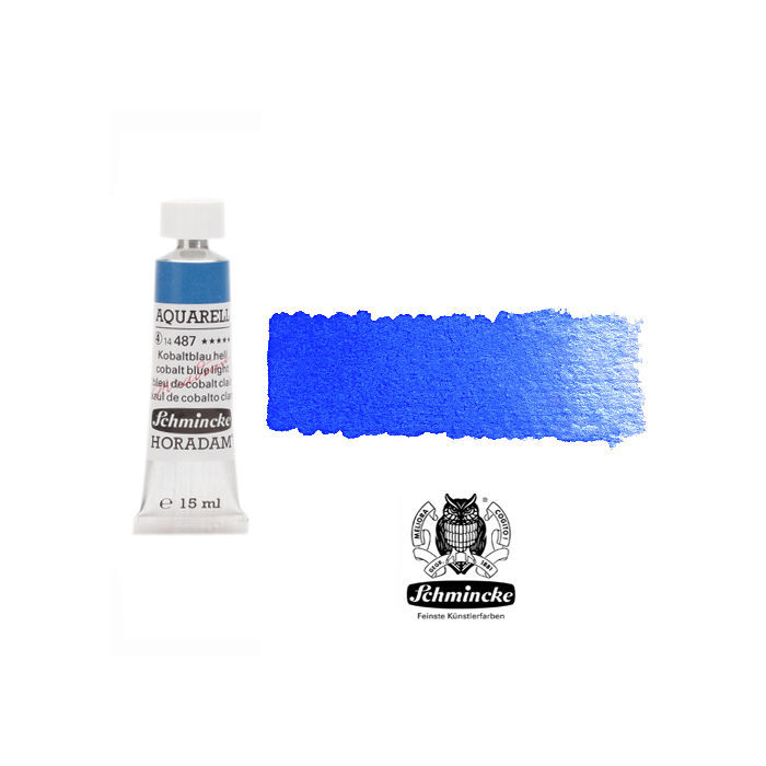 HORADAM  AQUARELL, Kobaltblau hell, Tube, 15 ml