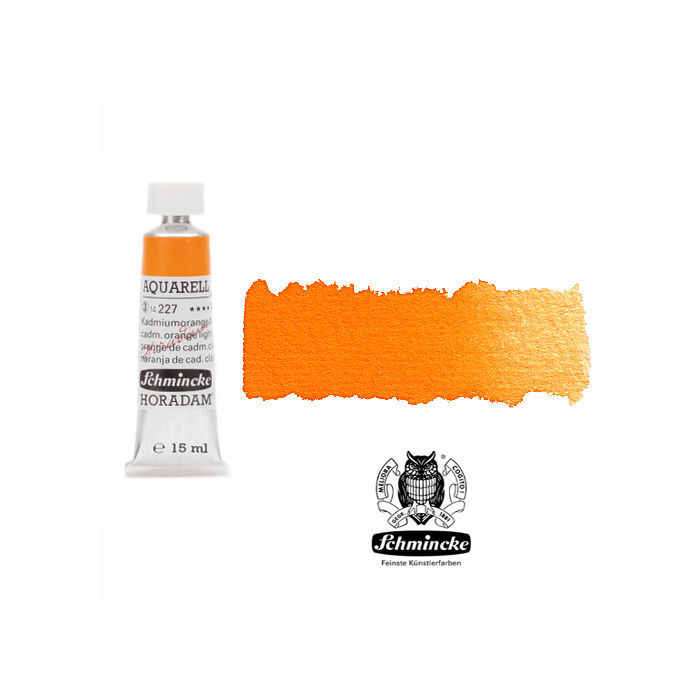 HORADAM  AQUARELL, Kadmiumorange hell, Tube, 15 ml