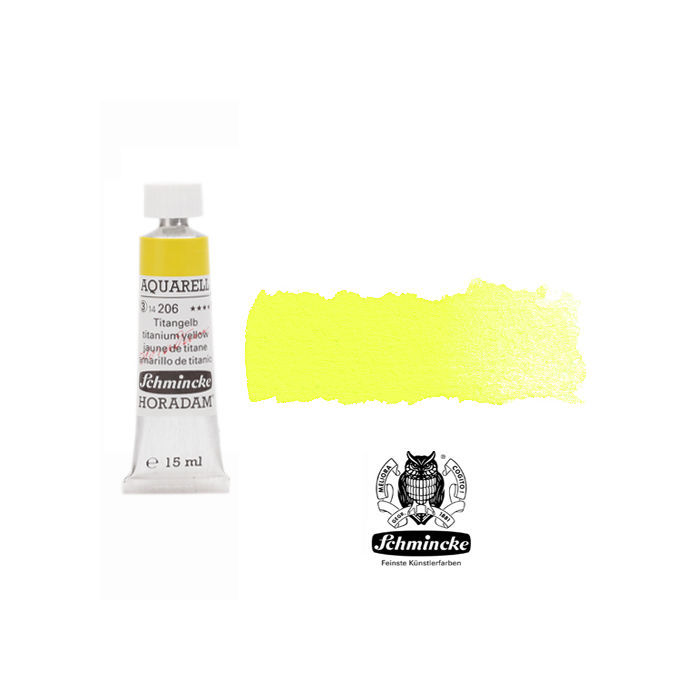 HORADAM  AQUARELL, Titangelb, Tube, 15 ml