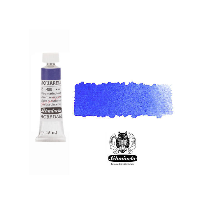 HORADAM  AQUARELL, Ultramarinviolett, Tube, 15 ml