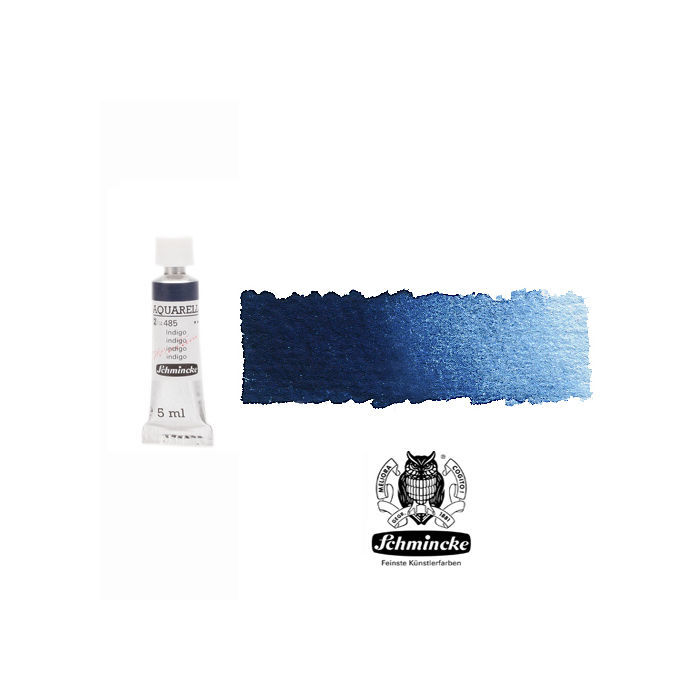 HORADAM  AQUARELL, Tiefblau Indigo, Tube, 5 ml