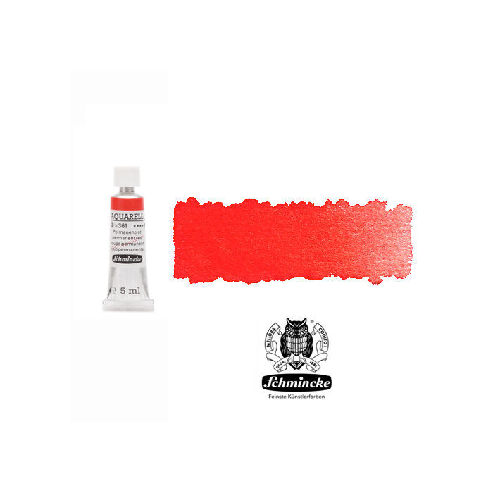 HORADAM  AQUARELL, Permanentrot, Tube, 5 ml