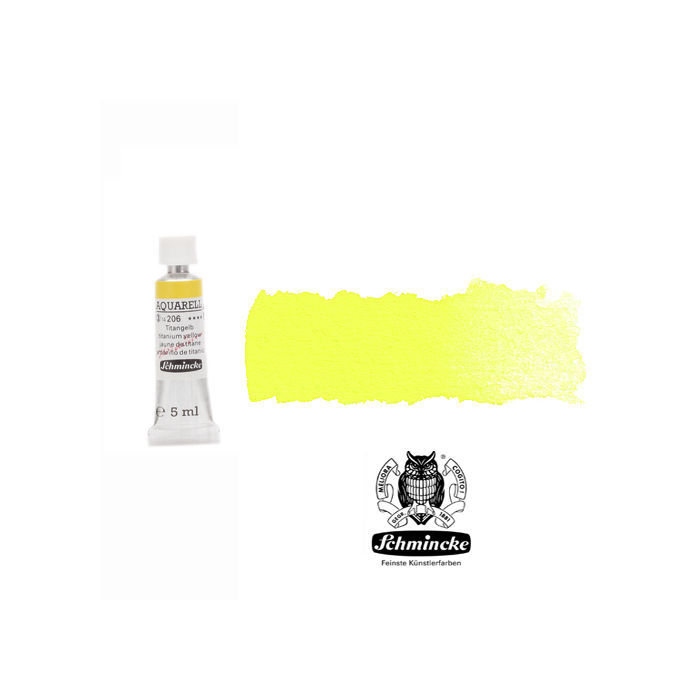 HORADAM  AQUARELL, Titangelb, Tube, 5 ml