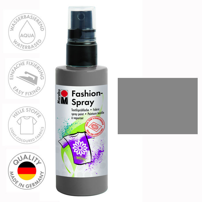 marabu fashion spray 100ml grau ebay. Black Bedroom Furniture Sets. Home Design Ideas