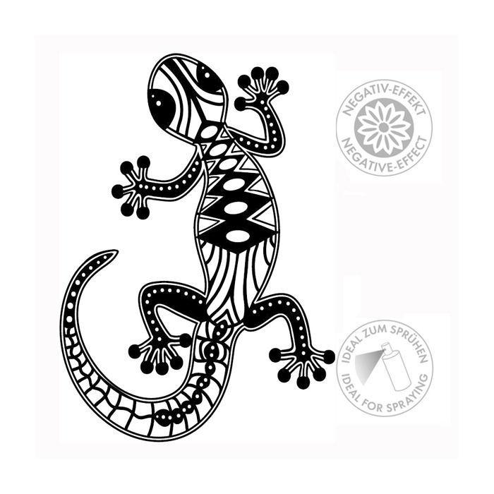 Marabu Silhouette Schablone, A4, Gecko - Marabu Silhouette ...