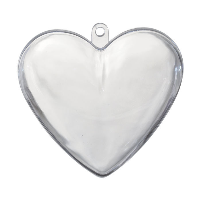 Kunststoff/ Plastik Herzen, 8 cm, 5 Stück - Acrylformen ...