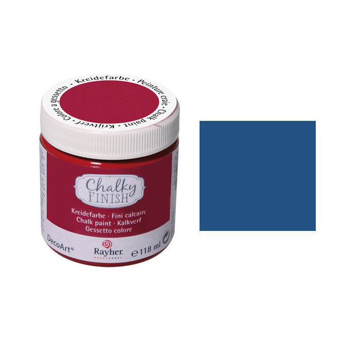 Chalky Finish, Dose 118ml, azurblau