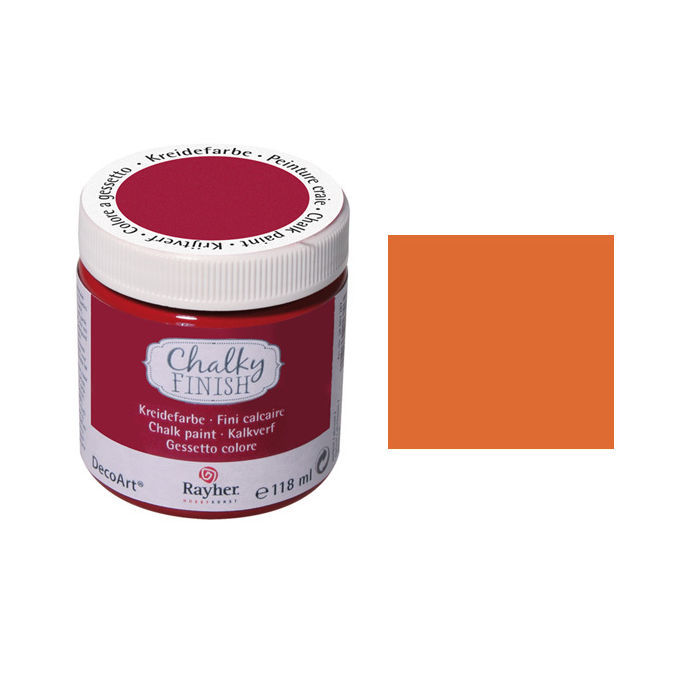 SALE Chalky Finish, Dose 118ml, d.orange