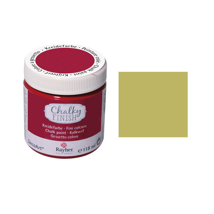 SALE Chalky Finish, Dose 118ml, olive