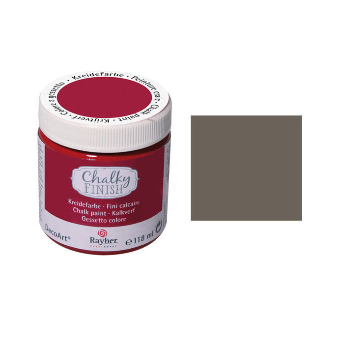 Chalky Finish, Dose 118ml, taupe-brown
