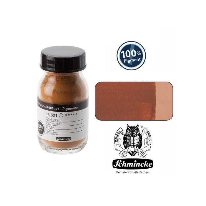 Pigmente, Goldocker, 100 ml - Schmincke Künstlerpigment Farben ...