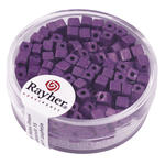 Metallic-W�rfel, matt, 3,4 mm, 15g, violett