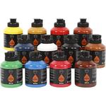 Pigment Art School 12x500ml Standard-Farben